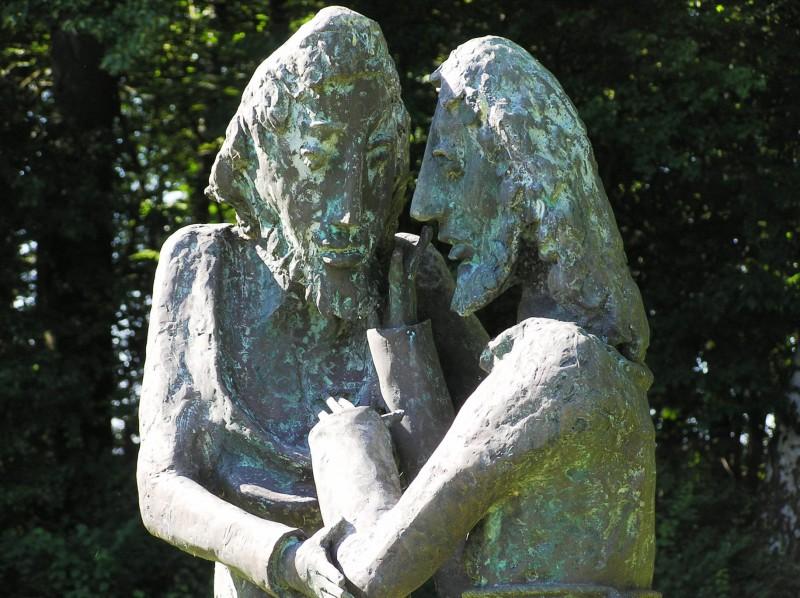 Christus und Thomas Künstler: Bernhard Kleinhans