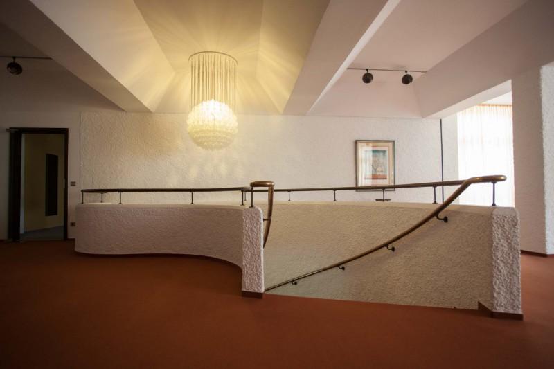 Treppenaufgang zum oberen Foyer
