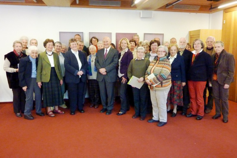 Teilnehmer der Bibelschule 2012