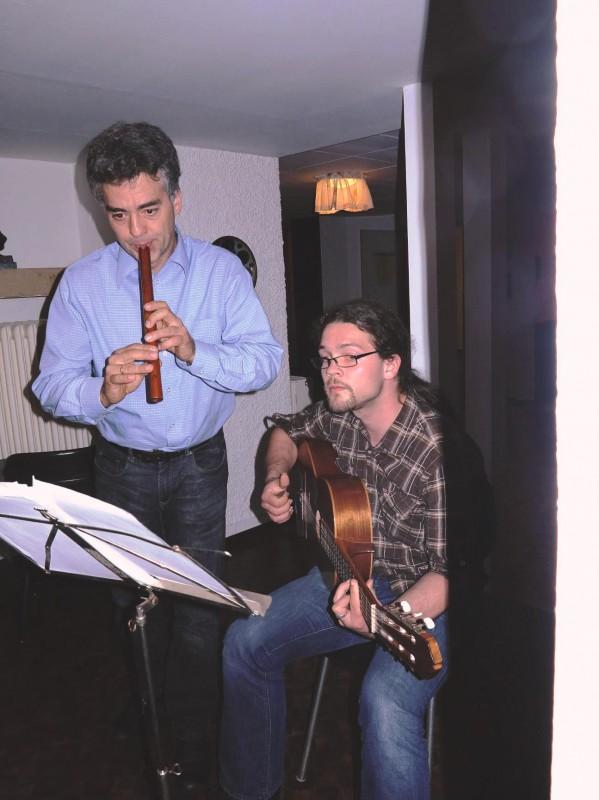 Martin und Tillmann Schlegel