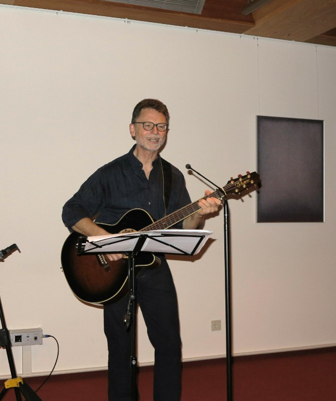 Reinhard Burchardt in Concert