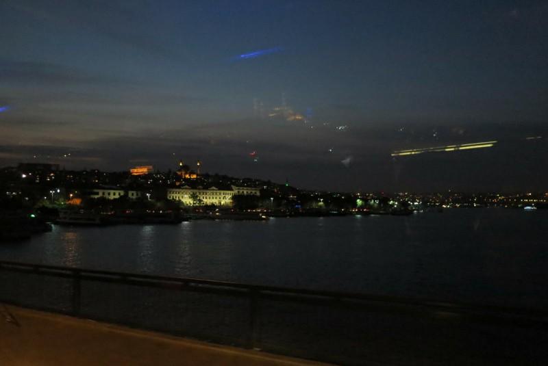 Abendliches Istanbul