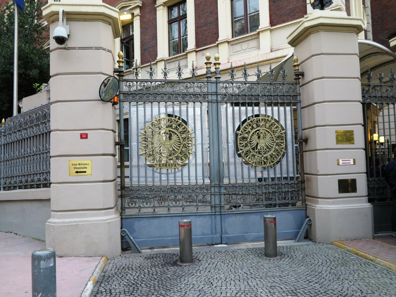 Tor des Deutschen Generalkonsulats