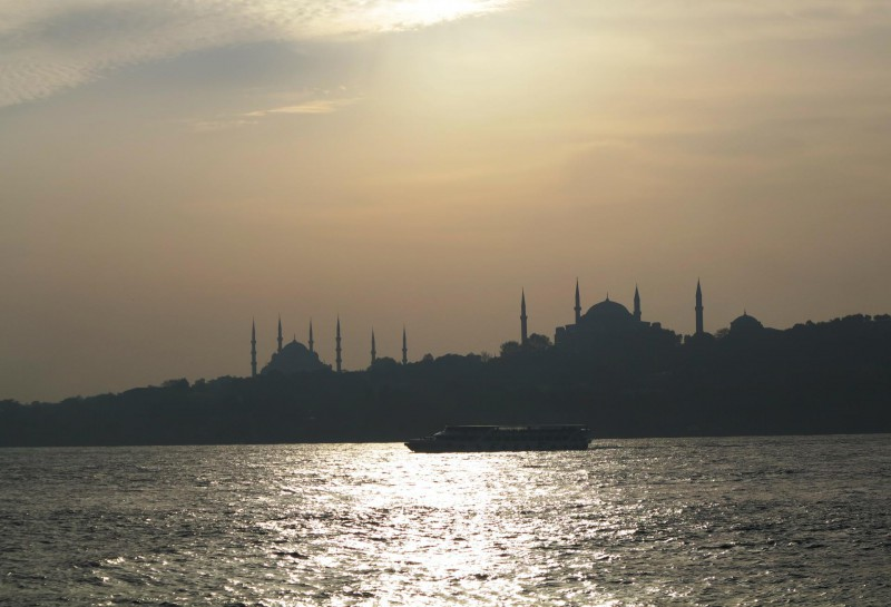 Rückfahrt auf dem Marmarameer