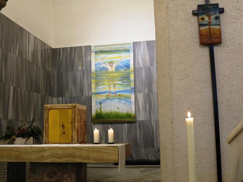 Gottesdienst im St. Georgs-Kloster mit der österreichischen Gemeinde