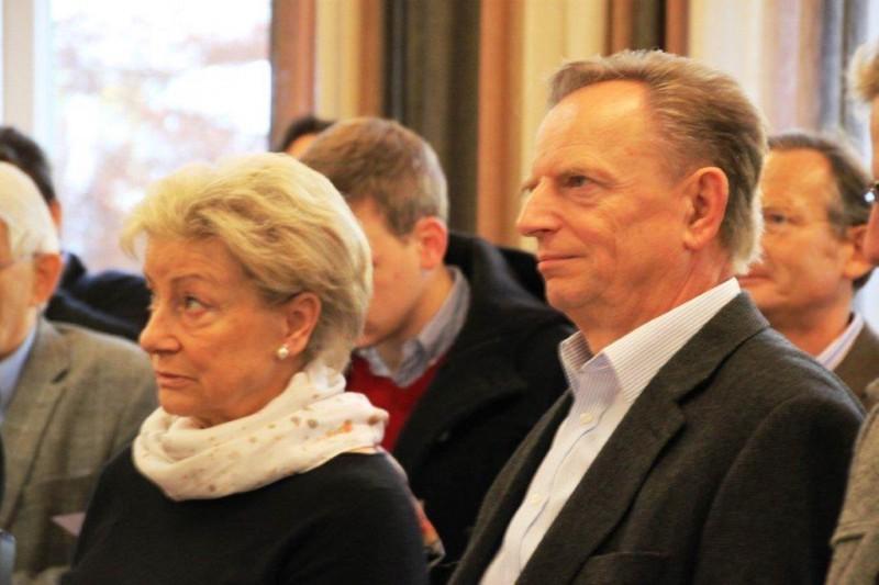 Dr. H. Wagner mit Ehefrau