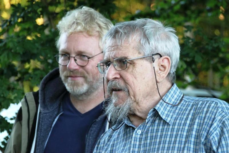 Frithjof Meussling und Werner Nickel