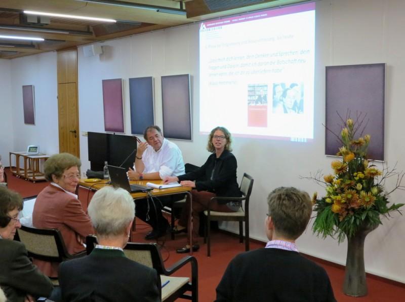 Prof. Dr. Ebertz und Dr. Anne Kirsch