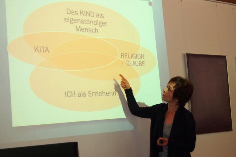 Frau Prof'in Dr. Agnes Wuckelt, Paderborn (Studie zur Religiosität junger Kinder)
