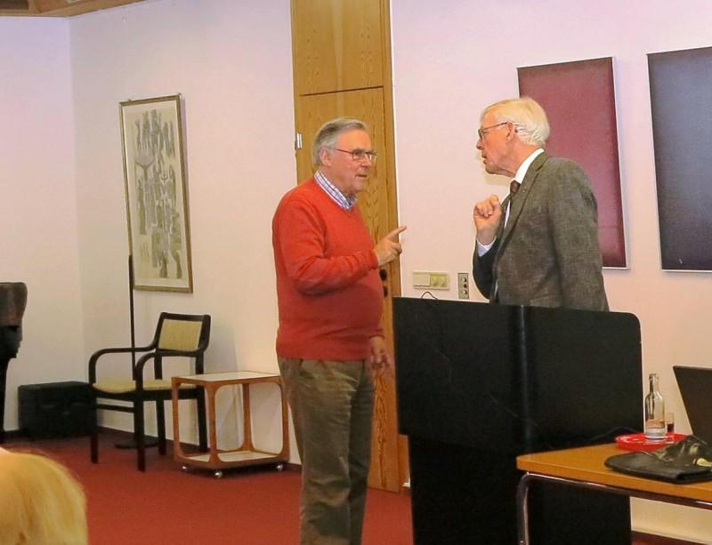 Dr. Arnd Friedrich im Gespräch mit Dr. Norbert Ernst