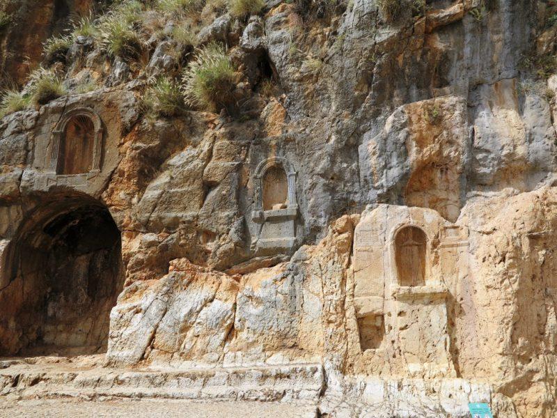 Antike Spuren in Banias