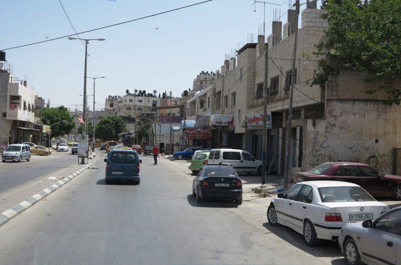 Durchfahrt durch Nablus