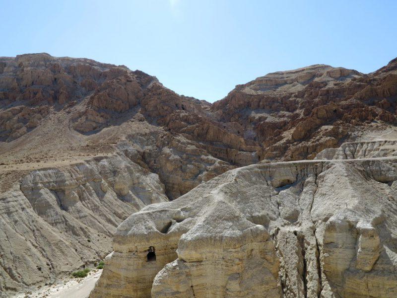 Wüste bei Qumran