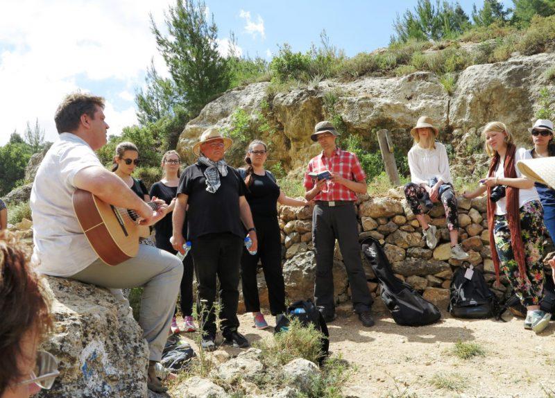 Exegese und Singen im Battir-Tal