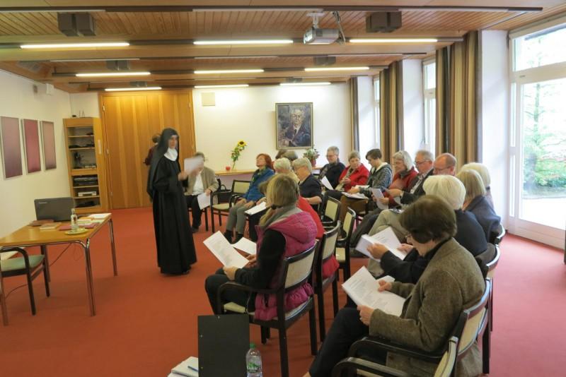 Die Referentin Sr. Hildegard Wolters, Fulda