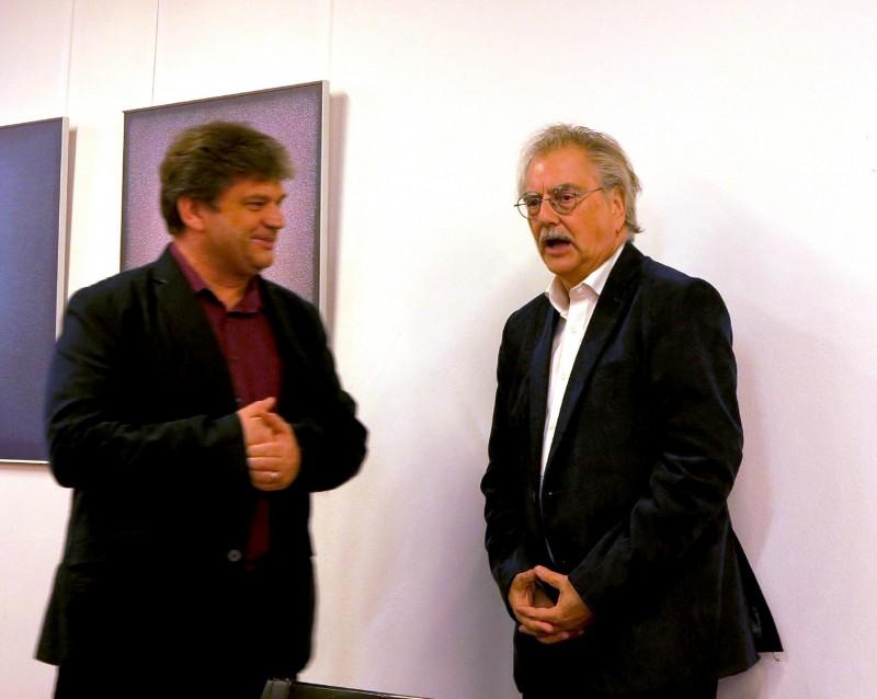 Damian Lazarek und Dr. Wolfgang Kessler