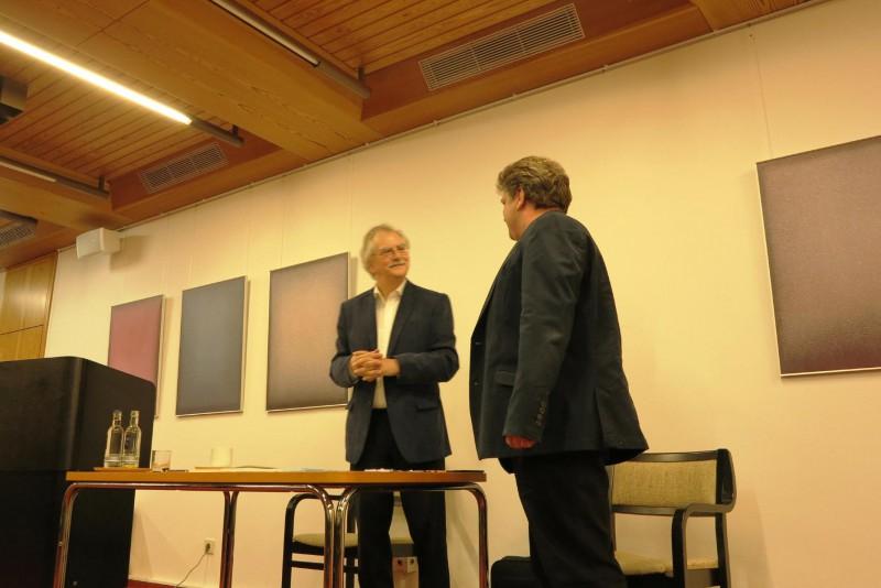 Dr. Wolfgang Kessler im Gespräch mit Damian Lazarek
