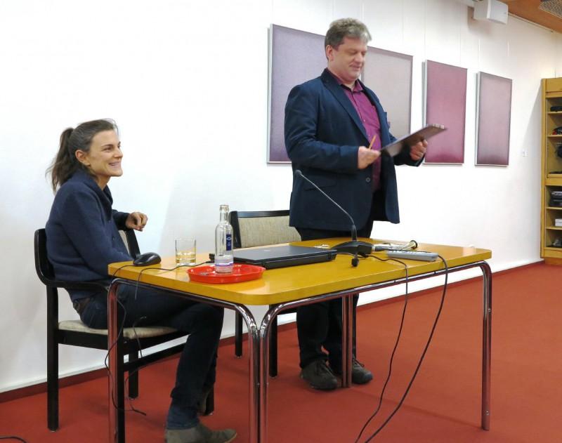 Miriam Faßbender li. mit Damian Lazarek