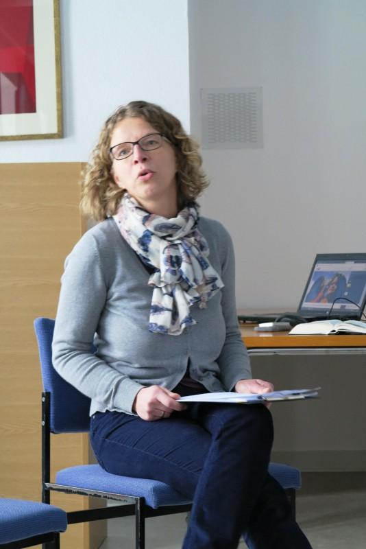 Referentin Dr. Anne Kirsch