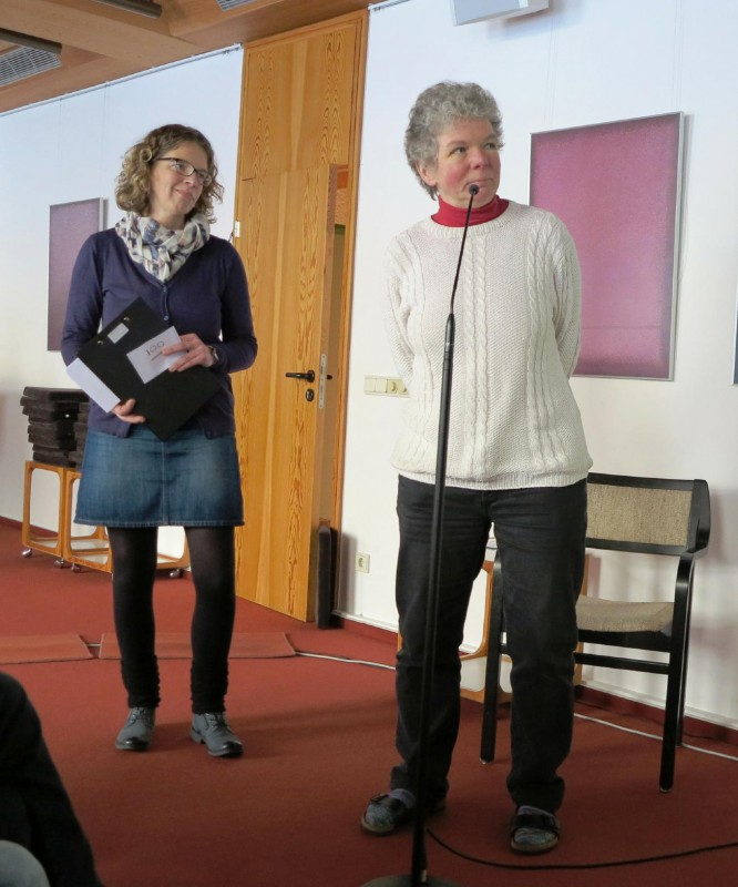 Dr. Anne Kirsch und Dagmar Feldmann