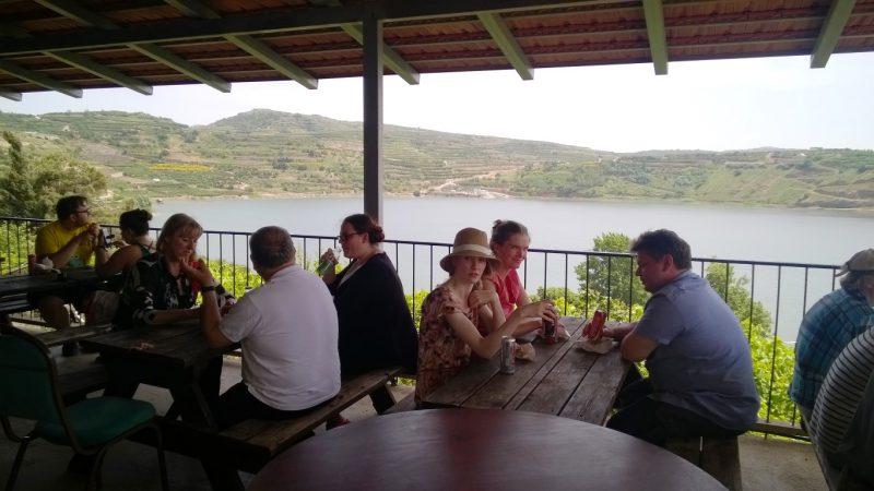 Mittagspause im drusischen Restaurant