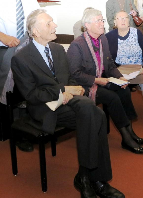 v.l.n.r. Prof. Reinhard Kösters (Hegge), Ingrid Moll-Horstmann