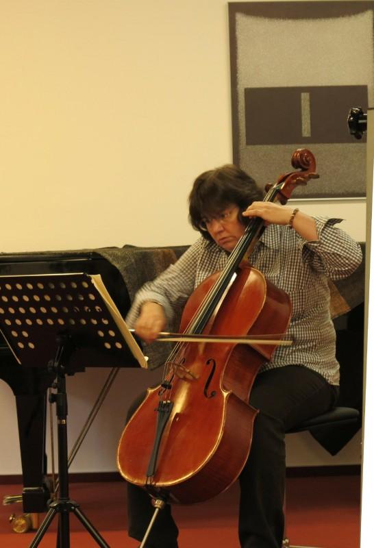Musikbeitrag der Cellistin Monika Kasper