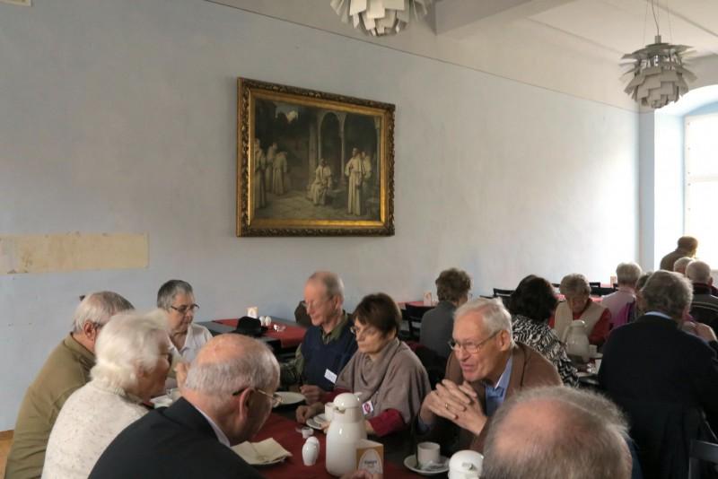 Kaffetrinken im Kloster Dalheim