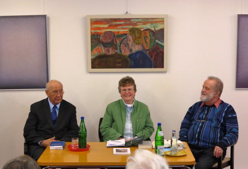 Rundgespräch mit den Referenten und Lic. theol. Dorothee Mann