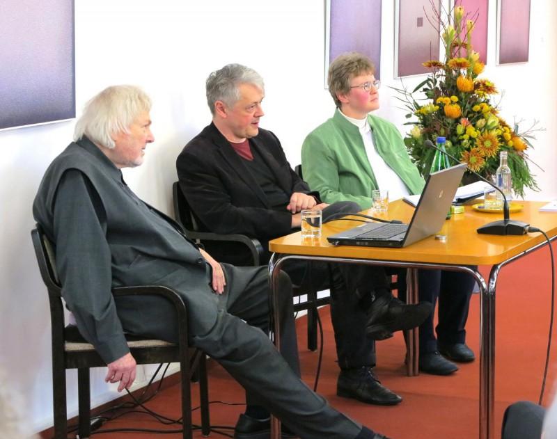 Podiumsgespräch mit Prof. Heindrichs und Dr. Brülls