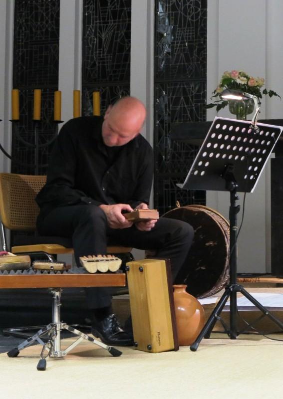 Percussionist Mike Turnbull