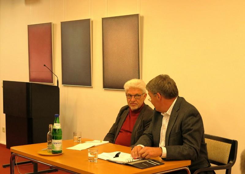 Prof. Dr. Salomon und Dr. Polenz