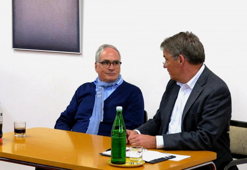 Prof. Dr. M. Zenz und Dr. U. Polenz