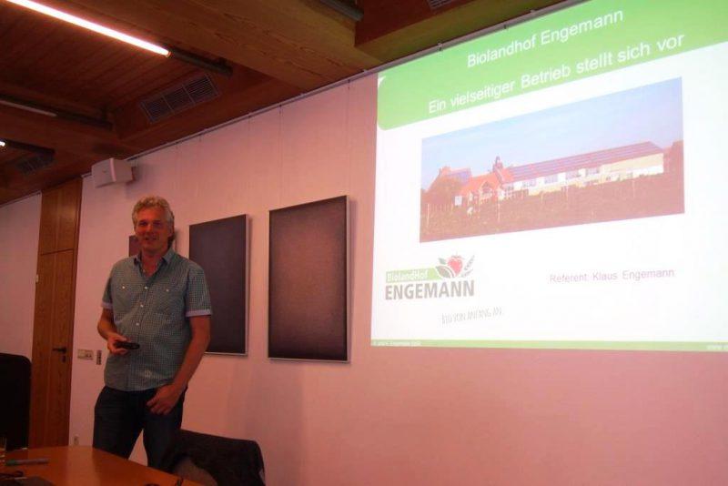 Hr. Engemann, Biolandhof Eissen