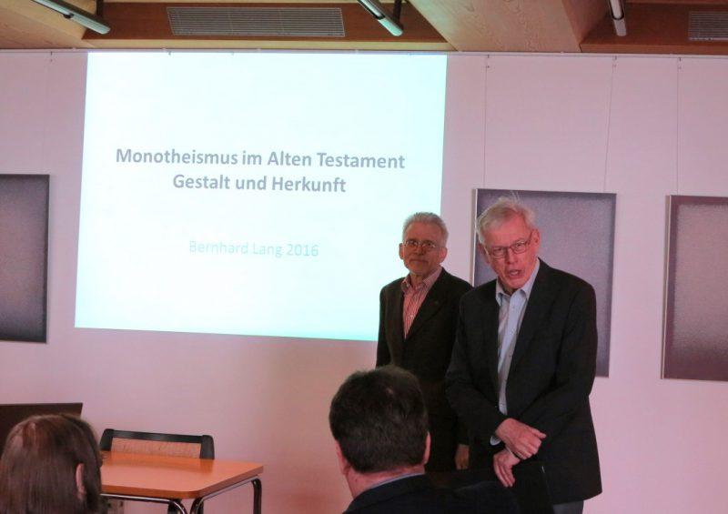 Prof. Dr. Bernhard Lang, Dr. Norbert Ernst