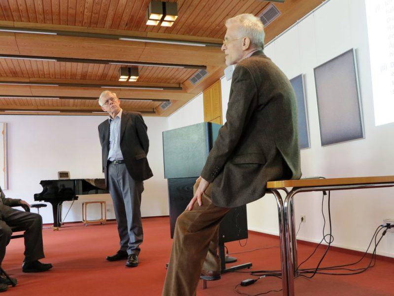 Dr. Norbert Ernst, Prof. Dr. Bernhard Lang