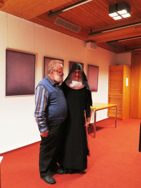 Dr. Perrar und Sr. Hildegard Wolters, OSB