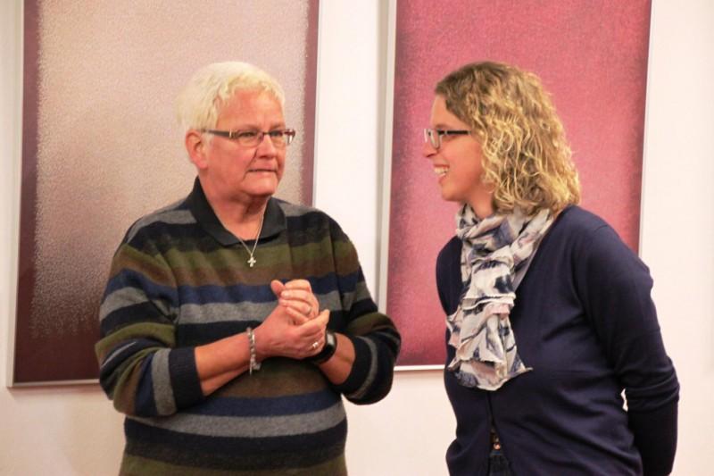 Andrea Schwarz im Gespräch mit Dr. Anne Kirsch