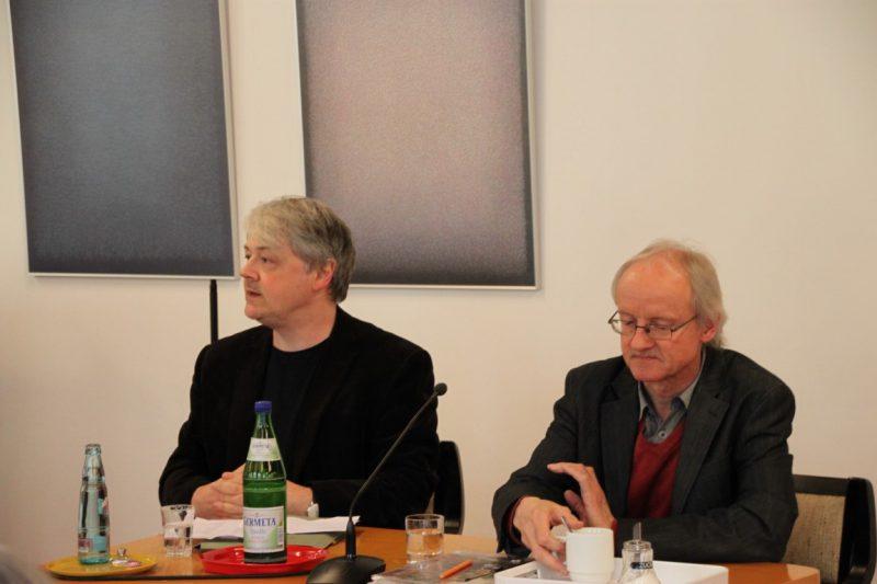 Dr. Brülls und Prof. Lüke
