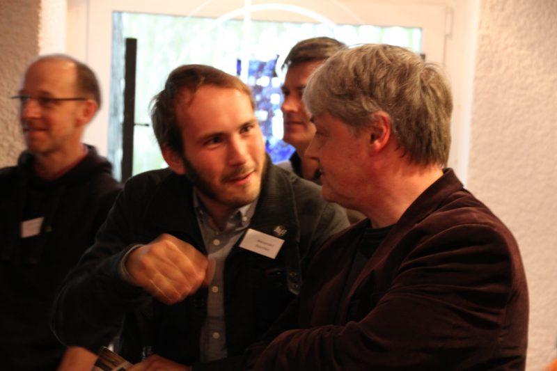 Alexander Roschke und Dr. Brülls