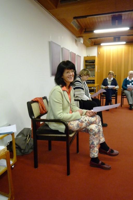 Referentin Gabi Lüttig
