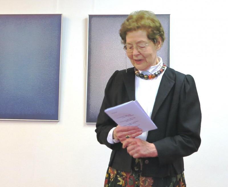 Begrüßung durch Dr. Anna Ulrich