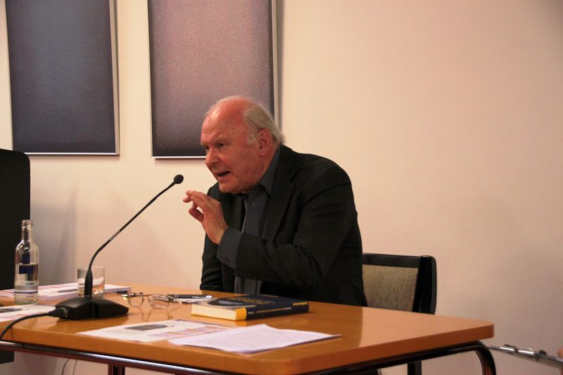Diskussion mit Prof. Steinbach