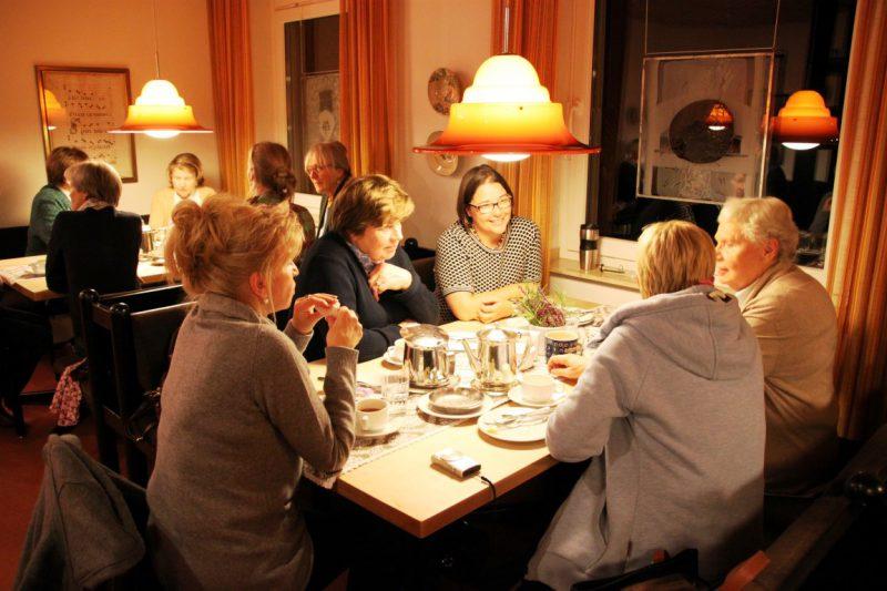 Gespräche beim Abendbrot