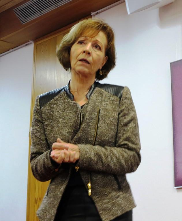 "Frau Prof. Agnes Wuckelt ""spielt"" die Lydia"