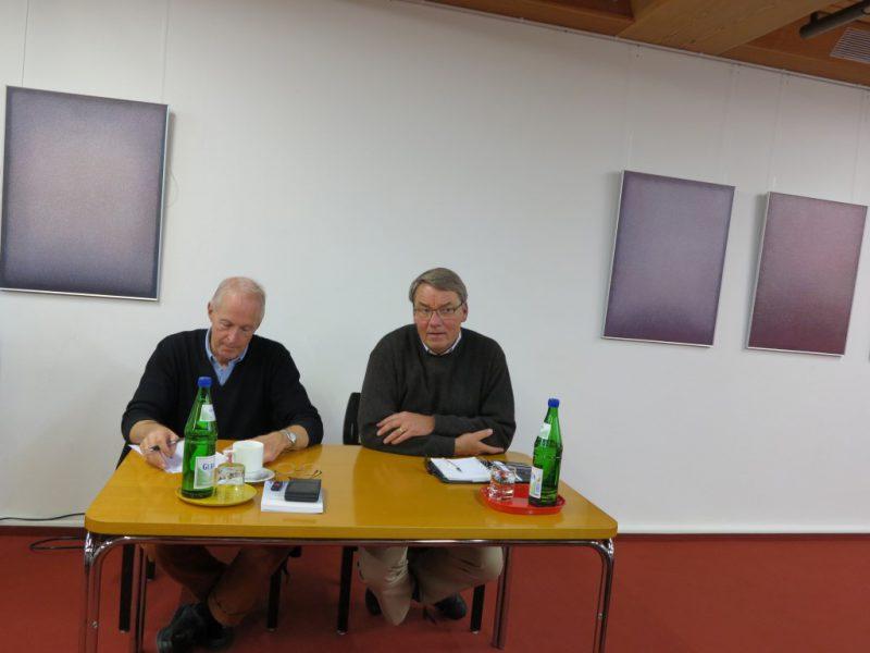 Prof. Dr. med. Dr. phil. Heiner Raspe, Dr. Ulli Polenz