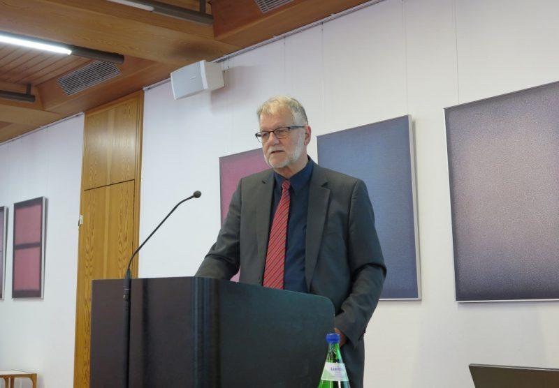 Referent Ulrich Jung