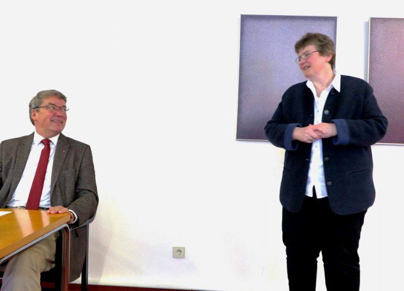 Dr. Ulli Polenz und Lic. theol. Dorothee Mann, Die Hegge