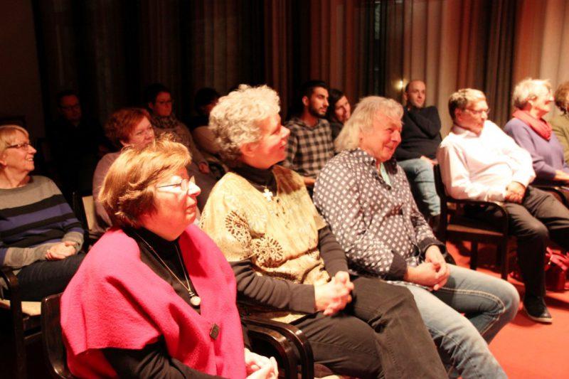 Begeisterte Zuschauer