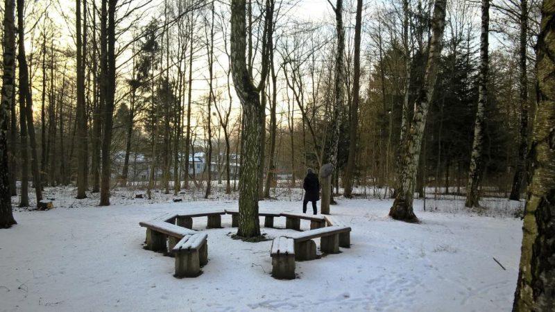 Auf dem Wort-Weg im Schnee